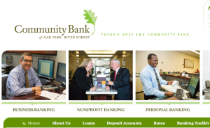 Community Bank Oak Park River Foirest
